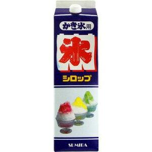【かき氷】スミダ シロップ オレンジ 1.8L
