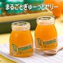 熊本県 まるごとぎゅーっとゼリー 100g 山下果樹園 みかんゼリー オレンジゼリー みかんジュレ 合成着色料不使用 合成保存料無添加 100%ストレート果汁