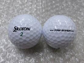 【Sランク】スリクソン トライスター 2017モデル ホワイト 1球【マーク・ネーム有】【中古】ロストボール ゴルフボール SRIXON TRI-STAR