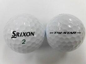 【Aランク】スリクソン トライスター 2017モデル ホワイト 1球【マーク・ネーム有】【中古】ロストボール ゴルフボール SRIXON TRI-STAR
