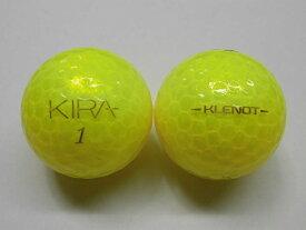 【Sランク】キラ クレノ キャスコ 2014年 イエローダイヤモンド 1球【マーク・ネーム無】【中古】ロストボール ゴルフボール KIRA KLENOT