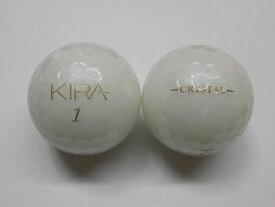 【Sランク】キラ クリスタル キャスコ 2018年 ホワイト 1球【マーク・ネーム無】【中古】ロストボール ゴルフボール KIRA CRYSTAL