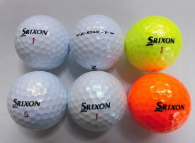 【Sランク】スリクソン ゼットスターエックスブイ 2019年 1球【マーク・ネーム無】【中古】ロストボール ゴルフボール SRIXON Z-STAR XV