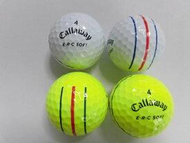 【Sランク】キャロウェイ 2019年 ERCソフト トリプルトラック 1球【マーク・ネーム無】【中古】ロストボール ゴルフボール ERCSOFT Callaway