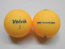 【Aランク】ボルビック ビビッド ライト シャーベットオレンジ 1球【マーク・ネーム無】【中古】ロストボール ゴルフボール volvik VIVID LITE