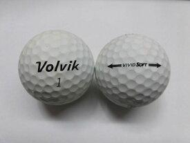 【Bランク】ボルビック ビビッド ソフト ホワイト 1球【中古】ロストボール ゴルフボール volvik VIVID SOFT