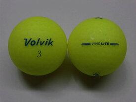 【Bランク】ボルビック ビビッド ライト シャーベットイエロー 1球【中古】ロストボール ゴルフボール volvik VIVID LITE