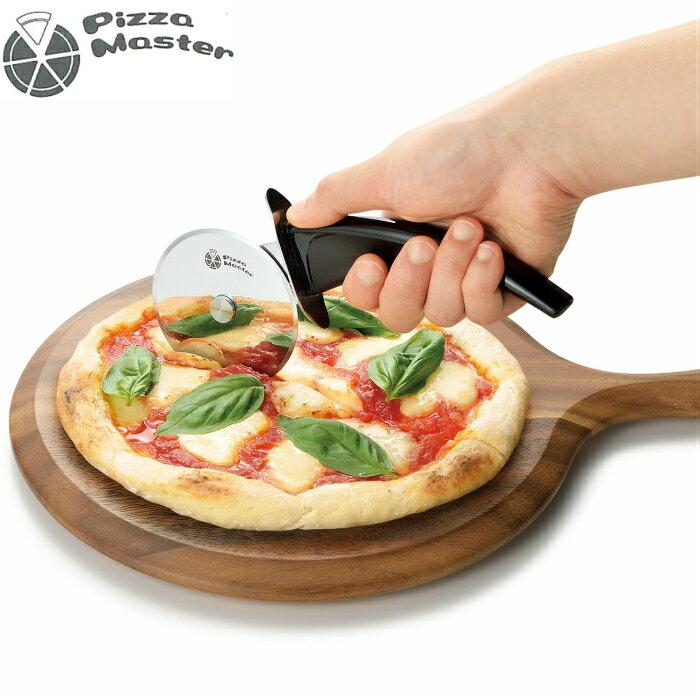 ピザカッター 安全ホルダー付 ステンレス Pizza Master(ピザマスター)|合羽橋 かっぱ橋