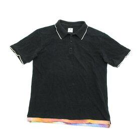 サスクワッチ ファブリックス/sasquatch fabrix鹿の子 半袖ポロシャツ【M】★黒MENS