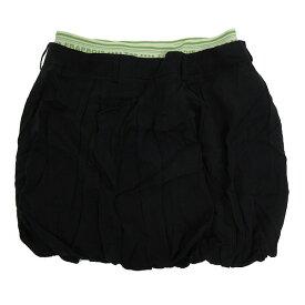 ★ フラボア/FRAPBOIS パンプキンスカート ギャザースカート【1】黒LADIES【中古】