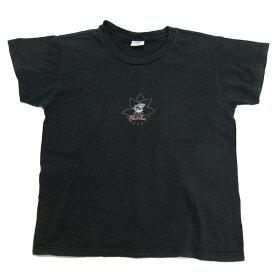 クレイジーシャツ/crary shirts SharkaプリントTシャツ■黒【L】レディース【中古】