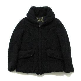 セシルマクビー/CECIL McBEEボリュームカラージャケット【M】黒【中古】
