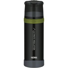 THERMOS サーモス 山専ステンレスボトル/ マットブラック MTBK 0.75L FFX-751アウトドアギア ステンレスボトル 水筒 マグボトル ブラック ベランピング おうちキャンプ