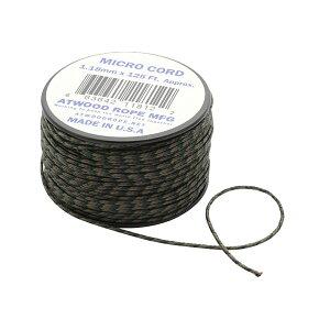 Atwoodrope アトウッドロープ マイクロコード/ウッドランド 44004アウトドアギア ロープ、自在金具 ハンマー・ペグ・ロープ等 タープ テントアクセサリー カモフラージュ ベランピング おうち