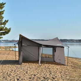 【掲載ショップ限定!24時間ポイント10倍!】UNIFLAME ユニフレーム REVOウォール(solo)TAN 682067アウトドアギア テント・タープセット テントセット タープ テント ベランピング おうちキャンプ