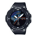CASIO カシオ Smart Outdoor Watch PRO TREK Smart/ブラック WSD-F20-BK