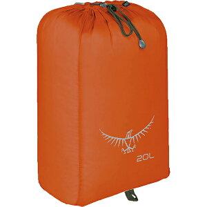 OSPREY オスプレー ULスタッフサック 20/ポピーオレンジ OS58508アウトドアギア スタッフバッグ アウトドア アクセサリーポーチ オレンジ ベランピング おうちキャンプ