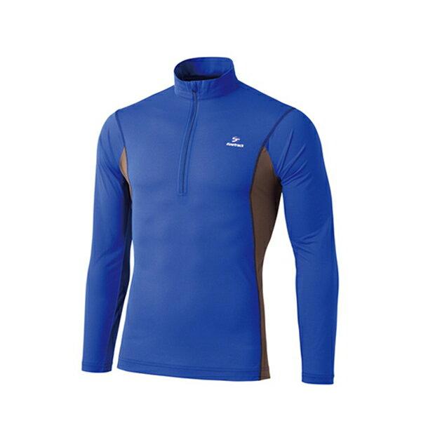 finetrack(ファイントラック) ドラウトエアジップネック Ms MB FMM0411男性用 ブルー カジュアルシャツ トップス メンズファッション 長袖シャツ 長袖シャツ男性用 アウトドアウェア