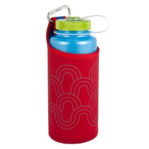 NALGENE ナルゲン ボトルクロージング 広口1.0Lケース /レッド 92237アウトドアギア 水筒・ボトル用アクセサリーパーツ 水筒 マグボトル レッド ベランピング おうちキャンプ