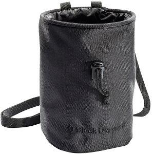 Black Diamond ブラックダイヤモンド モジョ/ブラック/M/L BD14230アウトドアギア チョークバッグ・ロープバッグ アウトドア ブラック ベランピング おうちキャンプ
