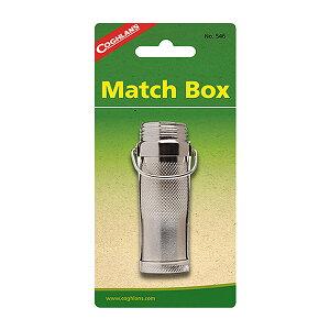 COGHLANS コフラン メタルマッチボックス 11210021アウトドアギア マッチ ライター アウトドア 燃料 シルバー ベランピング おうちキャンプ