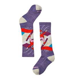 SmartWool スマートウール Ks ウィンタースポーツイエティベティー/ラベンダー/L SW72055002006アウトドアウェア 子供用ソックス ソックス タイツ 靴下 パープル 子供用