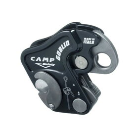 CAMP カンプ GOBLIN BLACK 5099909アウトドアギア 確保器 ディッセンダー 登山 トレッキング ビレイ機 ベランピング おうちキャンプ