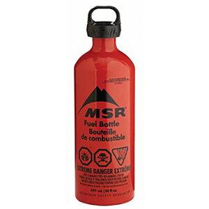 MSR エムエスアール 燃料ボトル/20 oz 590 ml 36831アウトドアギア 燃料タンク アウトドア 燃料 レッド ベランピング おうちキャンプ