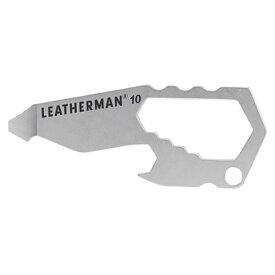 Leatherman レザーマン TheNumber#10 72136アウトドアギア マルチツール 十徳ナイフ おうちキャンプ