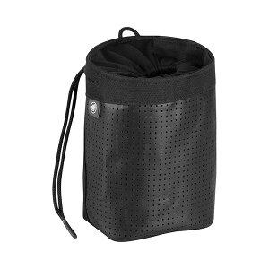 Mammut マムート Stitch Chalk Bag/0001black 2290-00900アウトドアギア チョークバッグ・ロープバッグ アウトドア ブラック おうちキャンプ