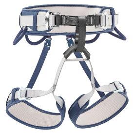 PETZL ペツル コラックス/1/デニムブルー C51A1Bアウトドアギア 指定なし 登山 トレッキング ハーネス ブルー 男女兼用 ベランピング おうちキャンプ
