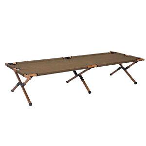 HangOut(ハングアウト) アペロウッドコット/オリーブ APR-C190 OLアウトドアギア ベンチ テーブル レジャーシート イス ベランピング おうちキャンプ