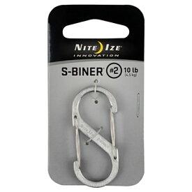 納期:2019年08月下旬NITE-IZE ナイトアイズ NI Sビナー#2 ステンレスシルバー SB2-03-11シルバー