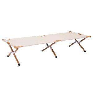 HangOut(ハングアウト) アペロウッドコット ホワイト APR-C190 WHアウトドアギア ベンチ テーブル レジャーシート イス ホワイト おうちキャンプ