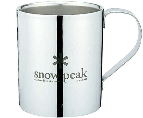snow peak スノーピーク スノーピークロゴダブルマグ 330 MG-113R