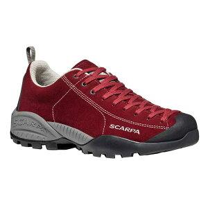 SCARPA スカルパ モヒートGTX/レッドベルベッド/EU42 SC21052アウトドアギア スニーカー・ランニング アウトドアスポーツシューズ トレッキング 靴 ブーツ レッド 女性用 ベランピング おうちキャ