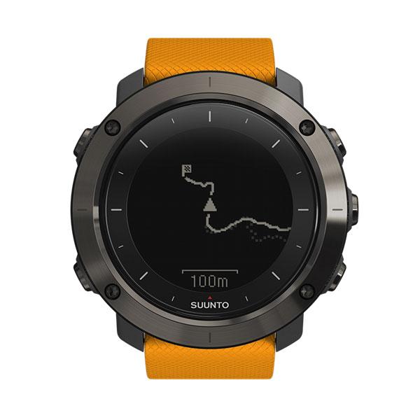 SUUNTO(スント) [正規品・2年保証]TRAVERSE AMBER(トラバース アンバー) SS021844000男女兼用腕時計 腕時計 高機能ウォッチ アウトドアギア