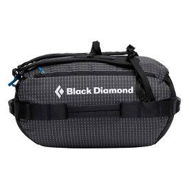 Black Diamond ブラックダイヤモンド ストーンホーラープロ30ダッフル/ブラック BD57010アウトドアギア トラベル・ビジネスバッグ ボストンバッグ ダッフルバッグ ブラック ベランピング おうちキャンプ