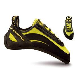 LA SPORTIVA ラ・スポルティバ ミウラー/40.5 CL971アウトドアギア クライミング用 トレッキングシューズ トレッキング 靴 ブーツ イエロー おうちキャンプ