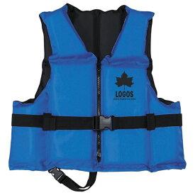 OUTDOOR LOGOS ロゴス フローティングベスト ブルー 66811170男女兼用 ブルー
