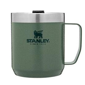 STANLEY スタンレー クラシック真空マグ 0.35L/グリーン 09366-013アウトドアギア マグカップ・タンブラー アウトドア キャンプ用食器 カップ グリーン ベランピング おうちキャンプ