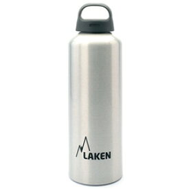 LAKEN ラーケン クラシック1.0L シルバー PL-33アウトドアギア アルミボトル 水筒 マグボトル おうちキャンプ