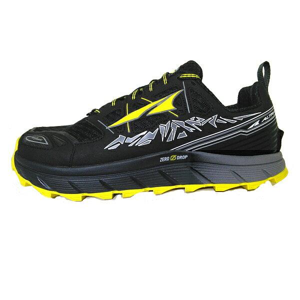 ALTRA(アルトラ) LONEPEAK3.0M(ローンピーク3.0)/ブラック/イエロー/US9 A1653-6-090男性用 大人用 ブラック ブーツ 靴 トレッキング アウトドアスポーツシューズ トレイルランシューズ アウトドアギア
