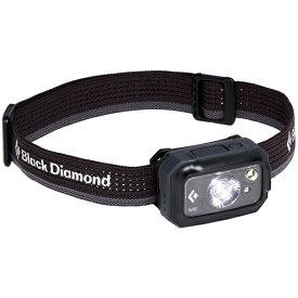 Black Diamond ブラックダイヤモンド リボルト350/グラファイト BD81102001アウトドアギア LEDタイプ ランタン ヘッドライト グレー ベランピング おうちキャンプ