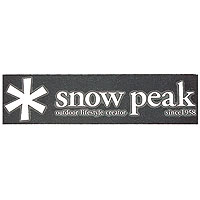 snowpeakスノーピークスノーピークロゴステッカーアスタリスクNV-004アウトドアギアスキースノーボード用アクセサリーステッカーベランピングおうちキャンプ