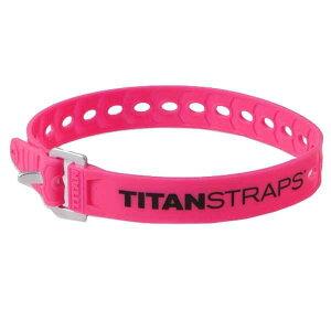 TITAN STRAPS タイタンストラップ スーパーストラップ/18インチ 46cm /ピンク TS-0918-FPアウトドアギア タープ テントアクセサリー ポール ピンク ベランピング おうちキャンプ