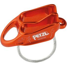 PETZL ペツル ルベルソ レッド D017AA02アウトドアギア 確保器 ディッセンダー 登山 トレッキング ビレイ機 レッド ベランピング おうちキャンプ