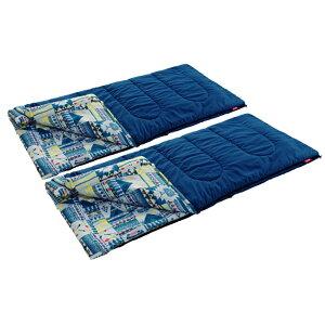 Coleman コールマン ファミリー2IN1/C5 2000027257アウトドアギア 封筒スリーシーズン 封筒型 アウトドア用寝具 寝袋 シュラフ ベランピング おうちキャンプ