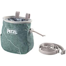 PETZL(ペツル) サカ/Green S039AA01アウトドアギア チョークバッグ・ロープバッグ アウトドア グリーン