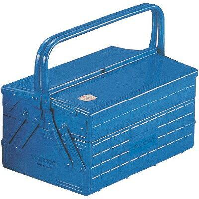 トラスコ中山TRUSCO2段式工具箱長さ352幅220高さ289青GL-350-BGL350B